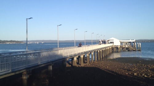 Coochiemudlo and Victoria Point ferry terminals