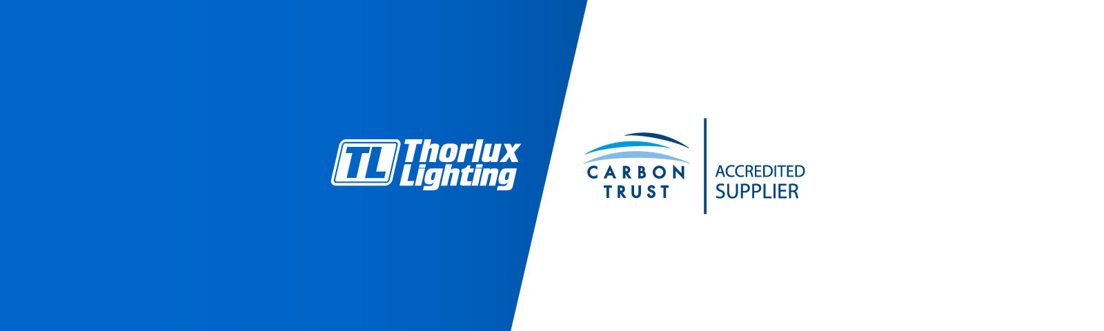 Thorlux Lighting is a Carbon Trust Accredited Supplier  gallery image